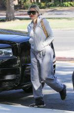 Khloe Kardashian All smiles as she steps out in Calabasas
