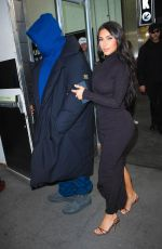 Kim Kardashian Leaving for the New York Time Dealbook Conference in New York
