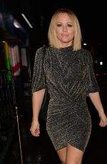 Kimberley Walsh Seen leaving Bagatelle