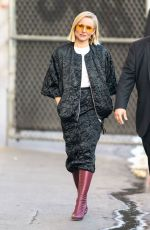Kristen Bell Arriving for Jimmy Kimmel in Los Angeles