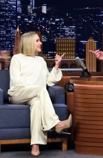 Kristen Bell At The Tonight Show with Jimmy Fallon in New York