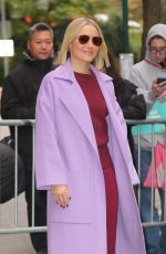 Kristen Bell Out promoting
