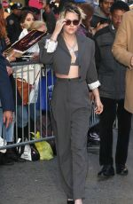 Kristen Stewart At GMA Arrival - New York