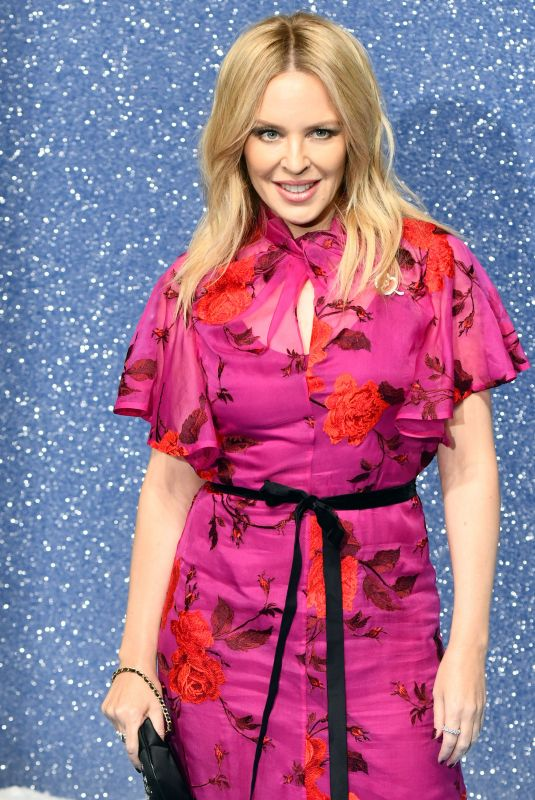 Kylie Minogue At Last Christmas - UK Film Premiere at BFI Southbank, Belvedere Road, London