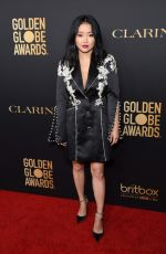 Lana Condor At HFPA and THR Golden Globe Ambassador Party in West Hollywood