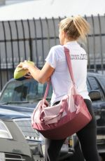 Lauren Alaina At the DWTS Studio in LA