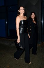 Lauren Silverman Attend the Celebrity X Factor Live Show in London