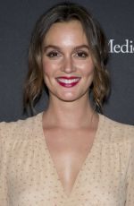 Leighton Meester At The Americana At Brand Annual Christmas Tree Lighting in Glendale