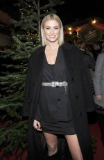 Lena Gercke At Christmas Party by Lena in Kitzbuehl