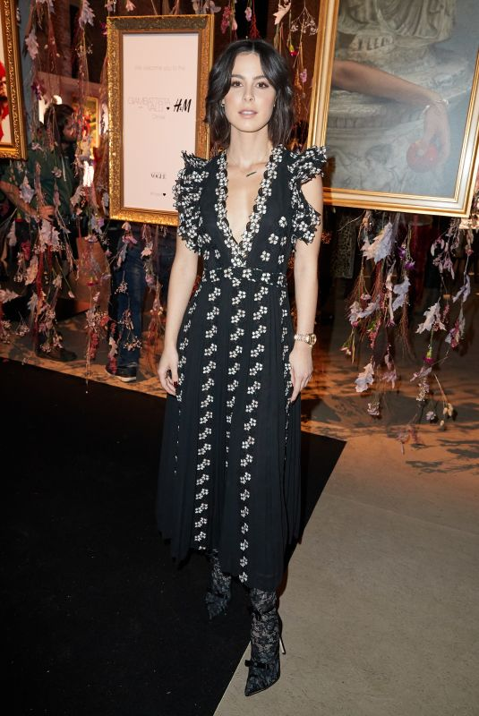 Lena Meyer-Landrut At Giambattista Valli X H&M Exclusive Dinner and Exhibition in Berlin