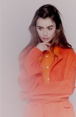 Lily Collins - Benedict Evens Photoshoot in New York November 2019