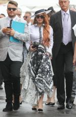 Lindsay & Ali Lohan At the Derby Day horse race at Flemington racecourse in Melbourne