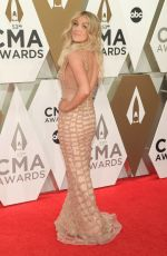 Lindsay Ell At The 53rd Annual CMA Awards in Nashville