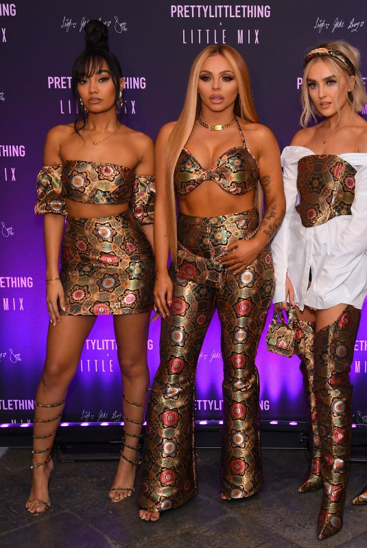 Little Mix At Pretty Little Thing x Little Mix launch party in London