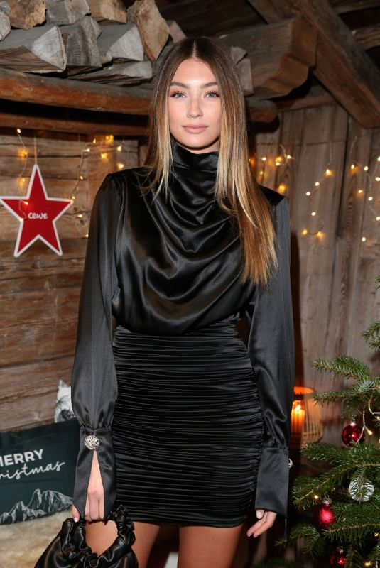 Lorena Rae At Christmas Dinner & Party in Kitzbuehel, Austria