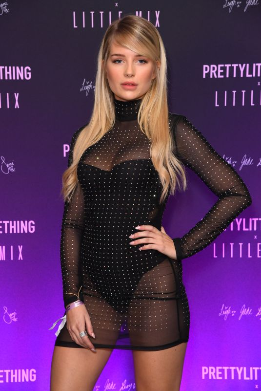 Lottie Moss At PrettyLittleThing Little Mix collection launch party, London