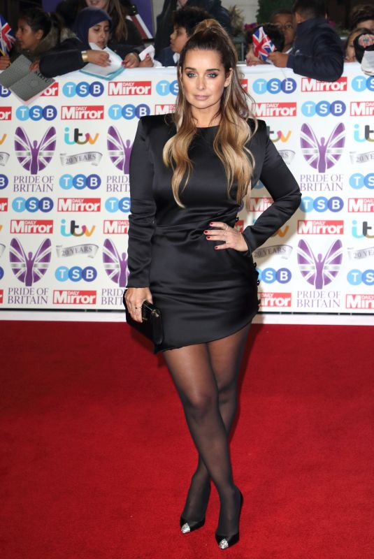 Louise Redknapp On the red carpet at The Daily Mirror Pride of Britain Awards, in partnership with TSB, London
