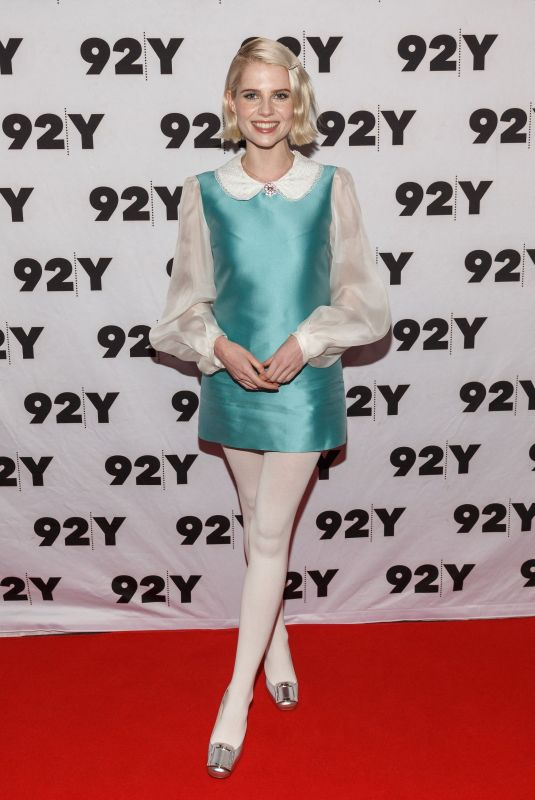 Lucy Boynton At Event for Netflix