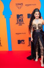 Mabel At 26th MTV European Music Awards in Seville, Spain