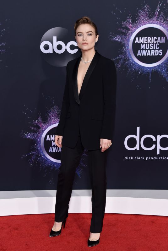 Maddie Hasson At 2019 American Music Awards at Microsoft Theater in Los Angeles