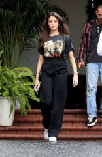 Madison Beer Leaves meeting at Chateau Marmont with publicist in West Hollywood
