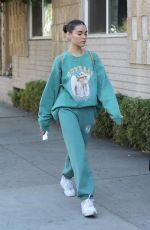 Madison Beer Shops at a flea market with a friend in West Hollywood
