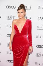 Maria Wild At The Beauty Awards with ASOS in London