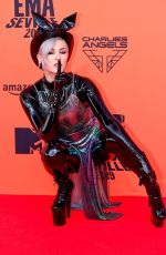 Maruv At 26th MTV European Music Awards in Seville, Spain