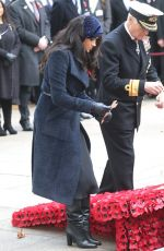 Meghan Markle Attending the Poppy Factory