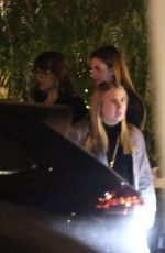 Melanie Griffith, Dakota Johnson & Stella Banderas Out for dinner in West Hollywood