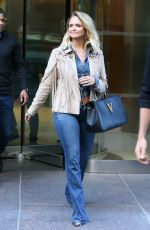 Miranda Lambert and NYPD Husband Brendan Mcloughlin are All Smiles While Out and About in New York City