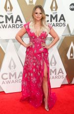 Miranda Lambert At 53rd Annual CMA Awards, Arrivals, Bridgestone Arena, Nashville