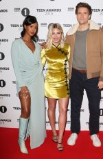 Mollie King On the red carpet during the Radio One Teen Awards at BBC Television Centre in London