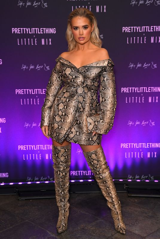 Molly Mae Hague At PrettyLittleThing Little Mix collection launch party, London