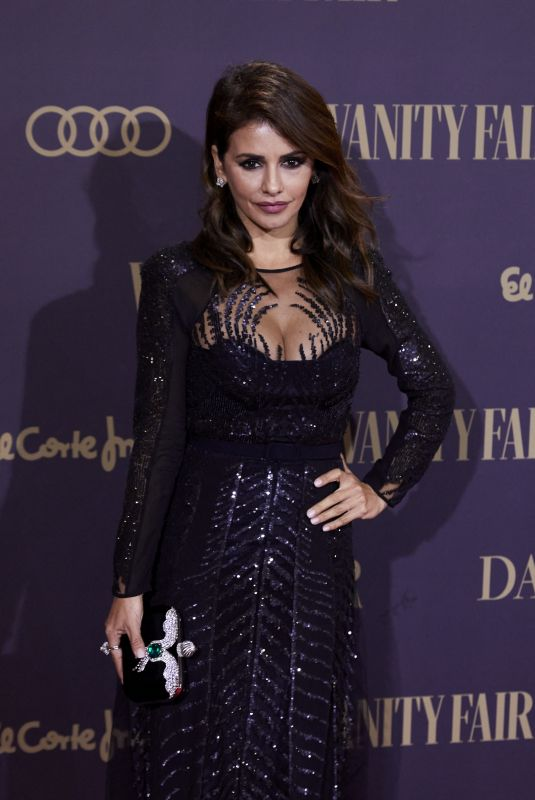 Monica Cruz At Vanity Fair Person of the Year 2019 Awards in Madrid