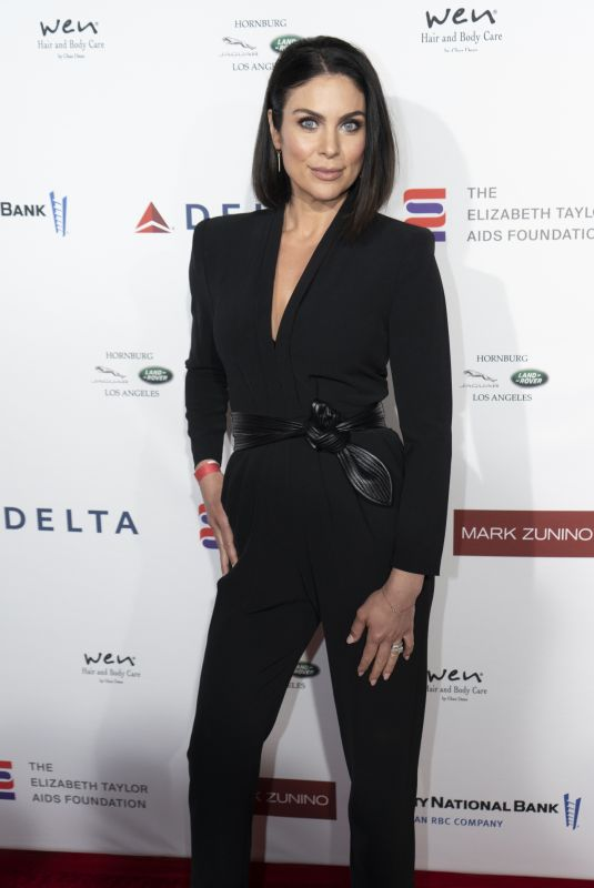 Nadia Bjorlin Walks the red carpet at the reception benefiting The Elizabeth Taylor Aids Foundation, Los Angeles