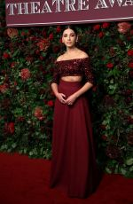 Naomi Scott At 65th Evening Standard Theatre Awards at the London Coliseum