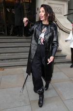 Naomi Scott Seen leaving her hotel whilst promoting