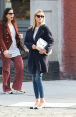 Nicky Hilton Strolls through the streets of Manhattan in New York