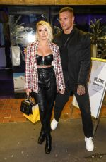 Olivia Buckland Attends the launch party for Gabby Allen