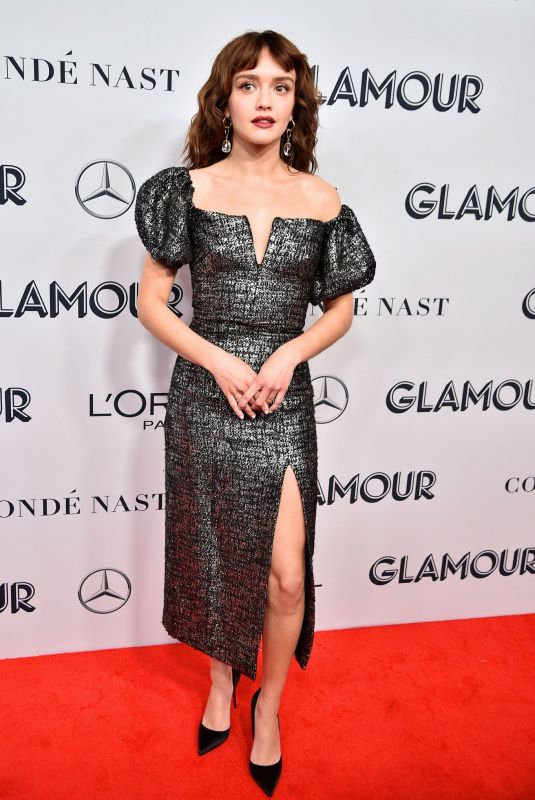 Olivia Cooke At 2019 Glamour Women Of The Year Awards at Alice Tully Hall in New York City