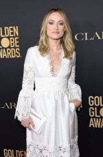 Olivia Wilde At HFPA and THR Golden Globe Ambassador Party in West Hollywood