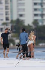 Pamela Anderson Poses in swimsuit for a photoshoot on the Gold Coast in Australia