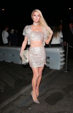 Paris Hilton At The Boohoo Party at Nightingale in West Hollywood