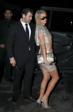 Paris Hilton Leaves the boohoo.com party in Hollywood