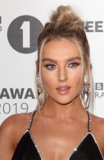 Perrie Edwards and Jade Thirlwall on the red carpet during the Radio One Teen Awards at BBC Television Centre in London