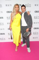 Polly Marchant At The Beauty Awards with ASOS in London