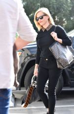 Reese Witherspoon Arrives at her office with her precious pooch in LA