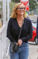 Reese Witherspoon Leaving a business meeting in Brentwood