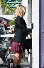 Reese Witherspoon Outside her office in Brentwood